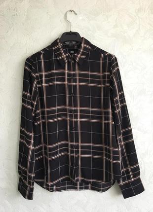 Блуза из плотного шифона