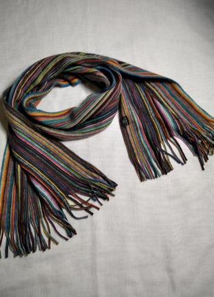 Классный теплый мужской шарф шарфик martin scarf германия