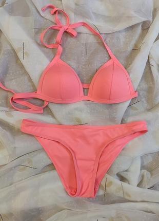Яскравий рожевий купальник next