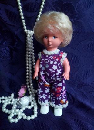 Kleinpuppen lichte кукла гдр винтаж германия резиновая с нарисованными глазками