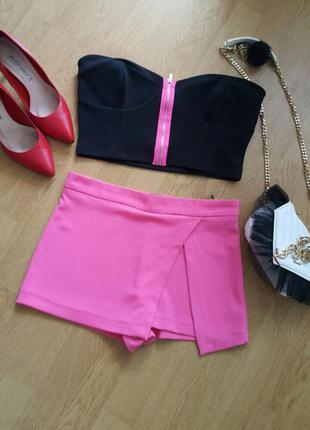 Нові розові шорти з імітацією запаха
