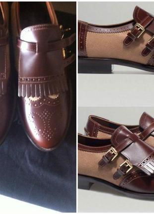 Massimo dutti monk shoes