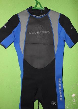 Короткий гидрокостюм scubapro