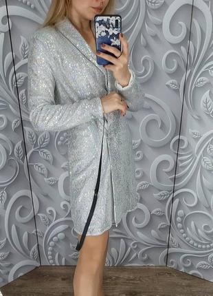 Платье-пиджак #prettylittlething новое! эффектное 🔥