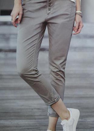Штаны летние брюки чинос галифе заужены к низу