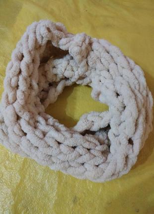 Мягкий шарф снуд