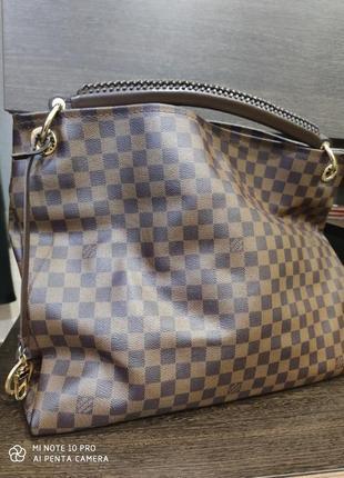 Большая сумка шопер в стиле луи витон