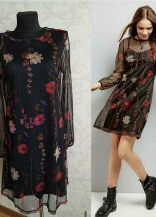 Ніжна сукня в квіти