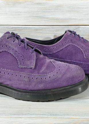 Dr.martens brogues made in england оригинальные туфли оригінальні туфлі