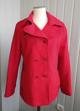 Пальто двухбортное полупальто bruuns bazaar, 46-48