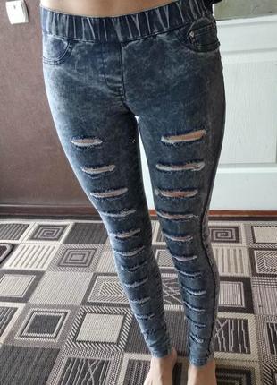 Джинсы, джинсы-лосины