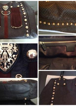 Gucci babouska python handbag ltd.