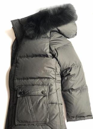 Пуховик женский натуральний xl, пухове пальто