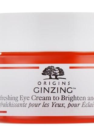 Освежающий крем для кожи вокруг глаз origins ginzing refreshing eye cream