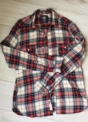 Рубашка oversize от h&m