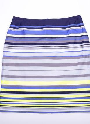 Тонкая юбка в полоску