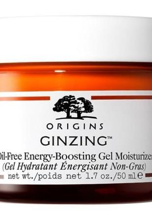 Увлажняющий гель для лица origins ginzing oil-free energy boosting gel moisturizer, 50 мл
