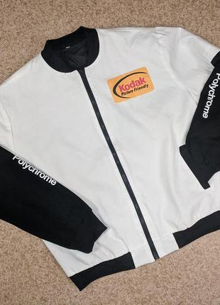 Куртка бомбер kodak polychrome