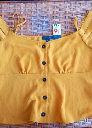Блуза с открытыми плечами, майка-блуза от primark