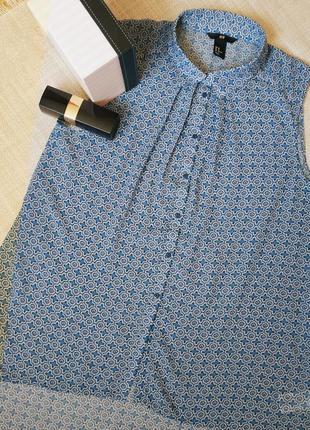 H&m женская блуза рубашка базовая жіноча блуза h&m