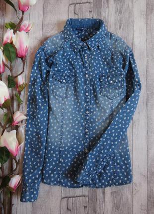 Стильная цветочная рубашка фирмы charles veogele