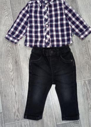Рубашечка и штанишки на малыша👼🏻