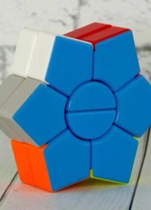 Акция! кубик рубика цветок +подставка в подарок
