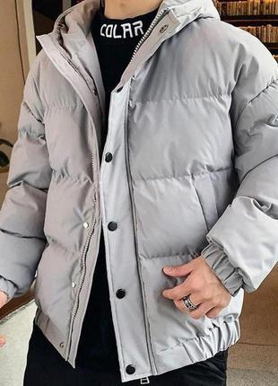 Зимняя oversize куртка