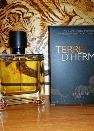 Terre d'hermes pure perfume 2014 год