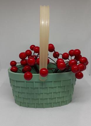 Корзинка ваза ссср карболит вазочка декоративная страуме литовская