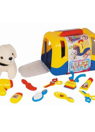 Игрушка набор для девочек парикмахер собачка