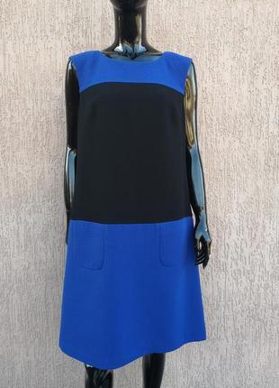 Тёплое платье футляр демисезон marks&spencer