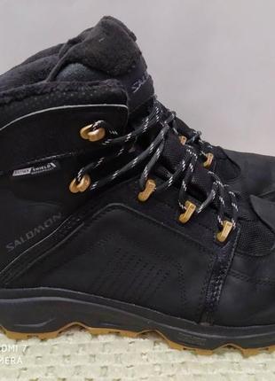 Термо ботинки salomon thinsulate waterproof