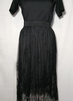 Нежная, кружевная юбка
