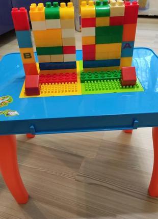 Конструктор столик лего конструктор