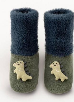 Носочки-тапки дино