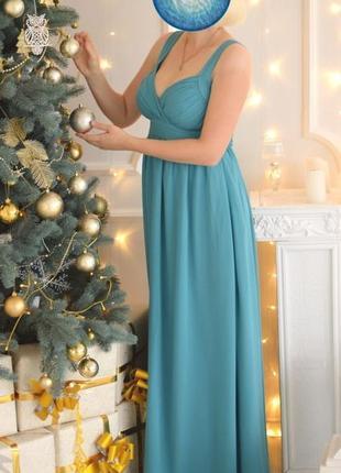 Шикарное вечернее платье праздничное нарядное