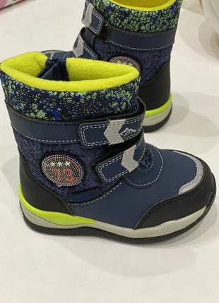 Детские зимние термо сапоги ботинки tom.m для мальчика 23-28