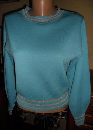 Дуже крутий фірмовий шерстяний светрик