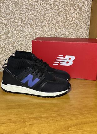 Высокие спортивные кроссовки new balance 247 mid с носком оригинал размер 42