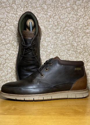 Мужские кожаные ботинки barbour оригинал размер 42 43