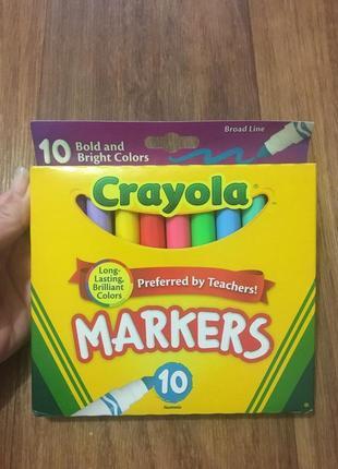 Маркеры crayola