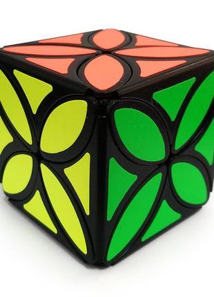 Акция! кубик рубика скьюб лотос клевер +подставка в подарок