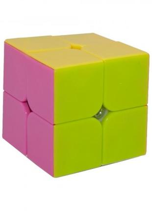 Акция! кубик рубика 2х2 да ян без наклеек +подарок