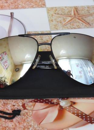 Очки зеркалки солнцезащитные cardeo 3402 c2 унисекс