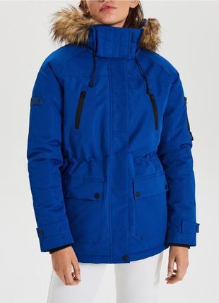 Новая ветрозащитная и влагоустойчивая куртка, парка cropp town