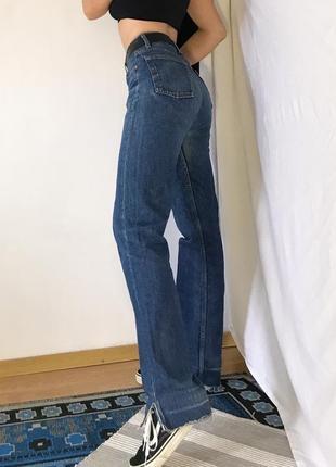 Прямі джинси від levis