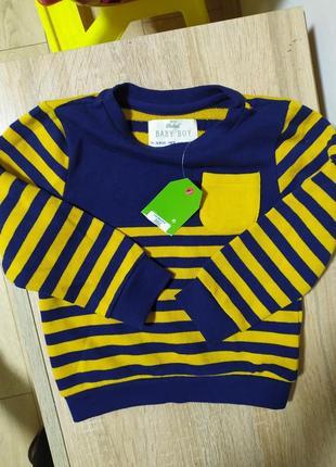 Фирменный свитер батник кофта
