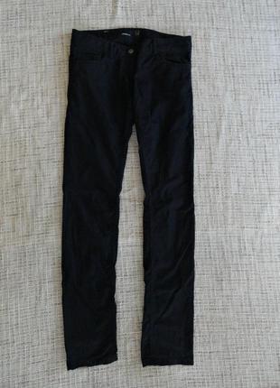 Штанишки черного цвета / классика / очень приятные на ощупь / junker / размер 27