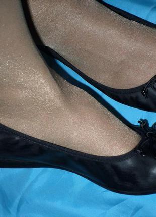 Кожаные туфли-балетки jones р 39 отлич сост